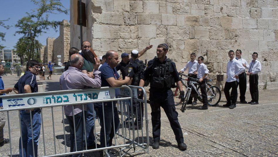 Israel Nur Noch Manner Uber 50 Jahre Durfen Zum Tempelberg Der