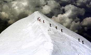 Mont Blanc: Um zwei Meter geschrumpft