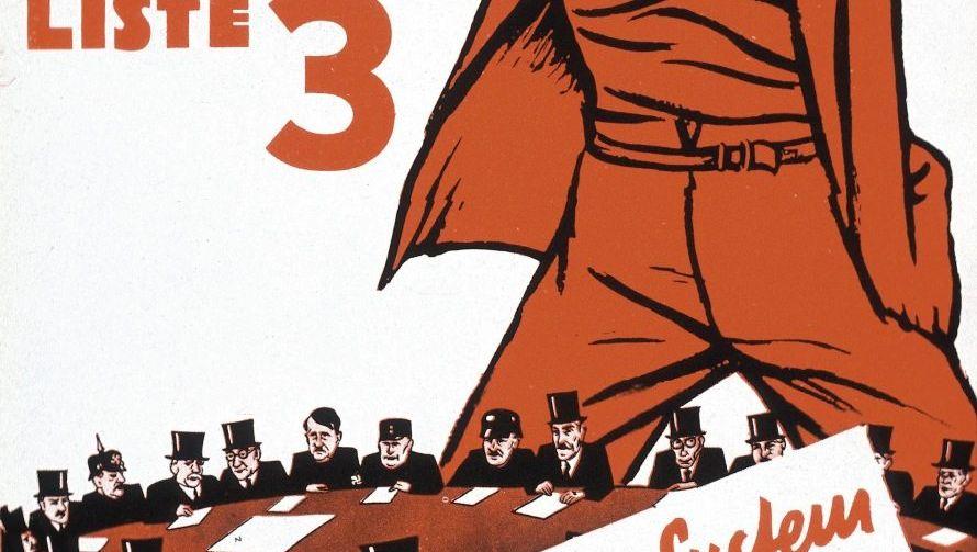 KPD-Plakat zur Reichstagswahl, November 1932