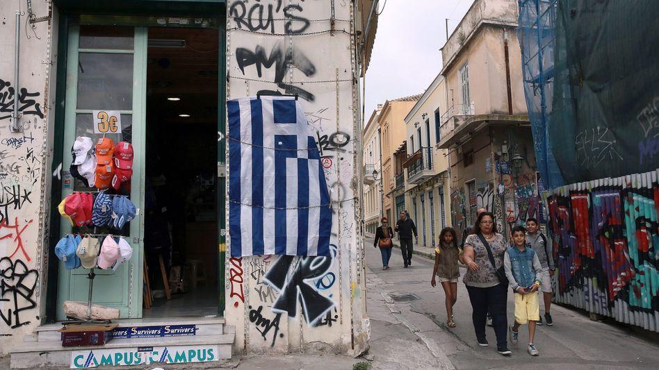 Griechische Hauptstadt Athen