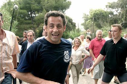 "Bürgernaher Präsident Sarkozy: ""Dann hau doch ab, du Idiot"""