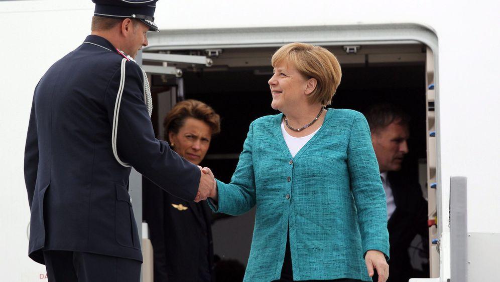 G-8-Gipfel: Aufmarsch der Mächtigen
