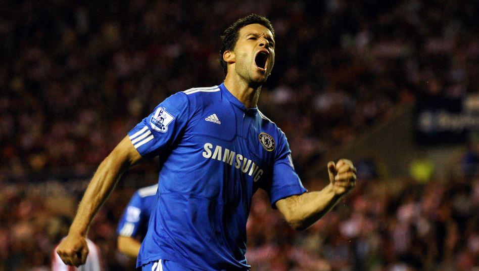 Als Spieler des FC Chelsea: Michael Ballack