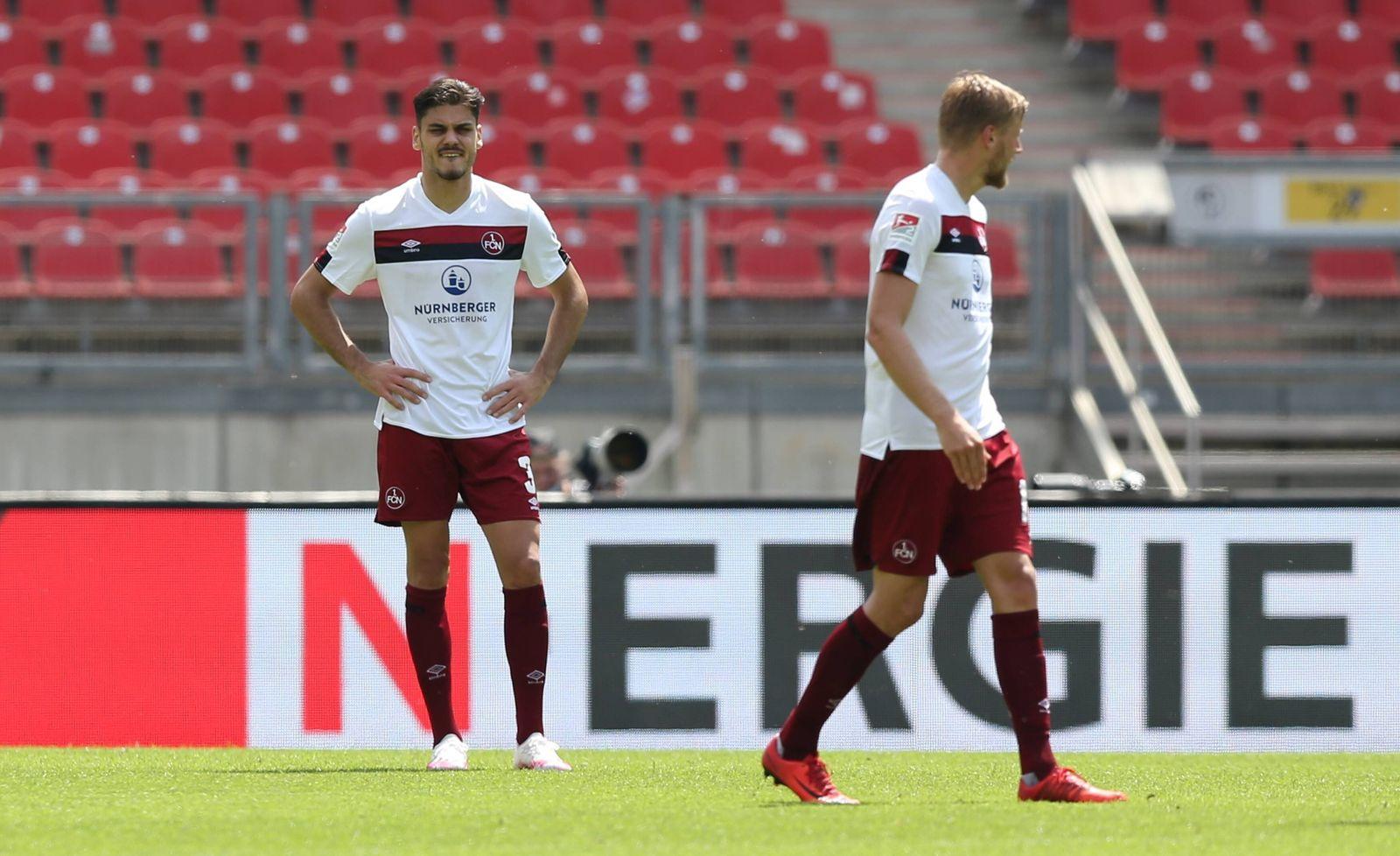 13.06.2020 - Fussball - Saison 2019 2020 - 2. Fussball - Bundesliga - 31. Spieltag: 1. FC Nürnberg FCN ( Club ) - SpVgg