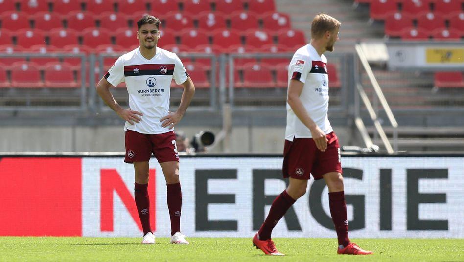Enttäuschung beim Klub: Nürnberg bleibt sieglos nach der Corona-Pause