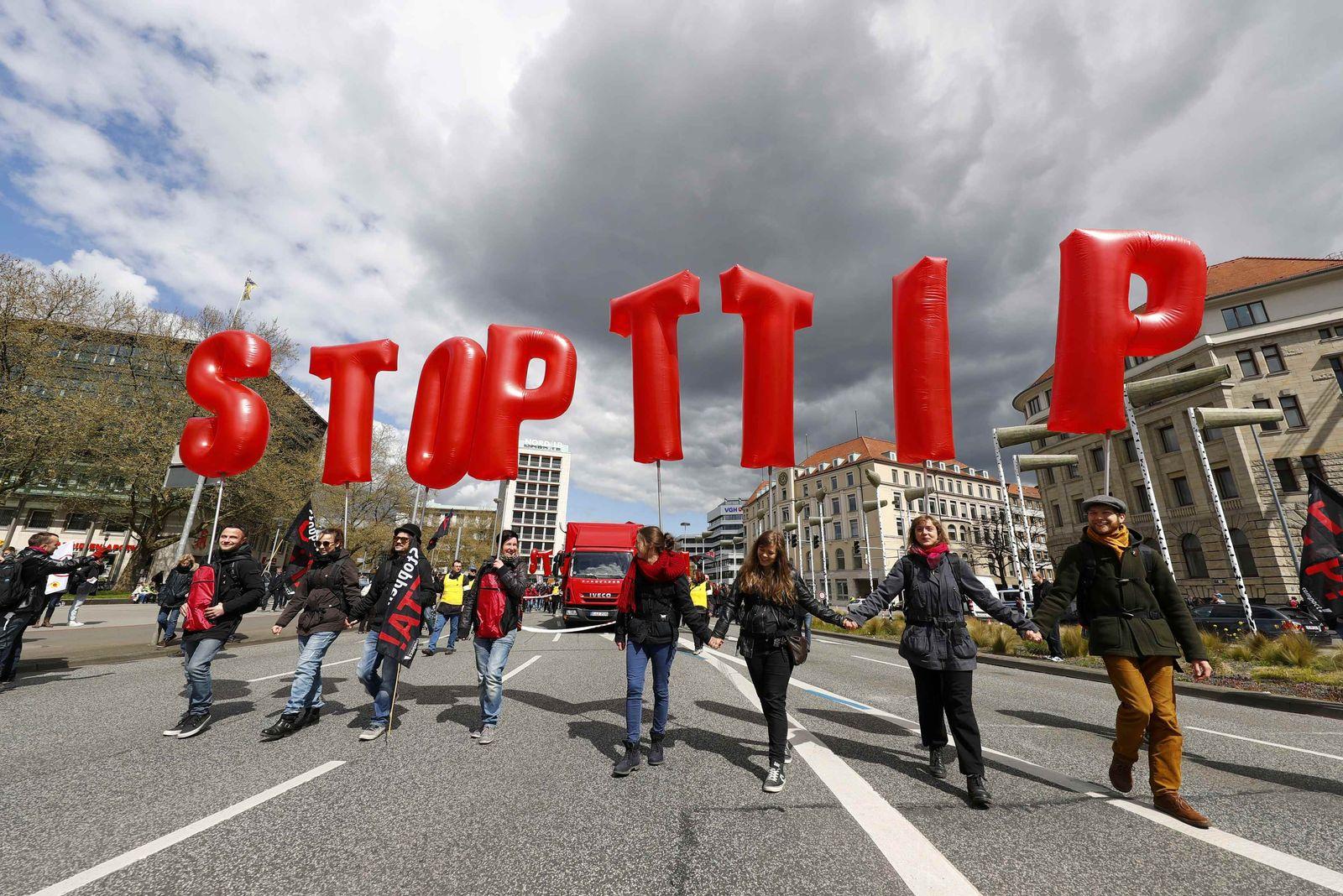 Hannover/ Demo/ TTIP