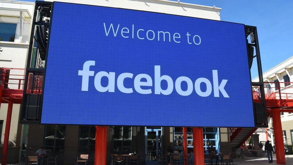 Facebooks Hauptsitz in Menlo Park, Californien (2019)