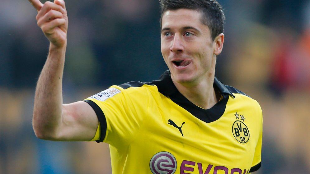 BVB-Stürmer Lewandowski: Zweimal Meister, einmal Pokalsieger