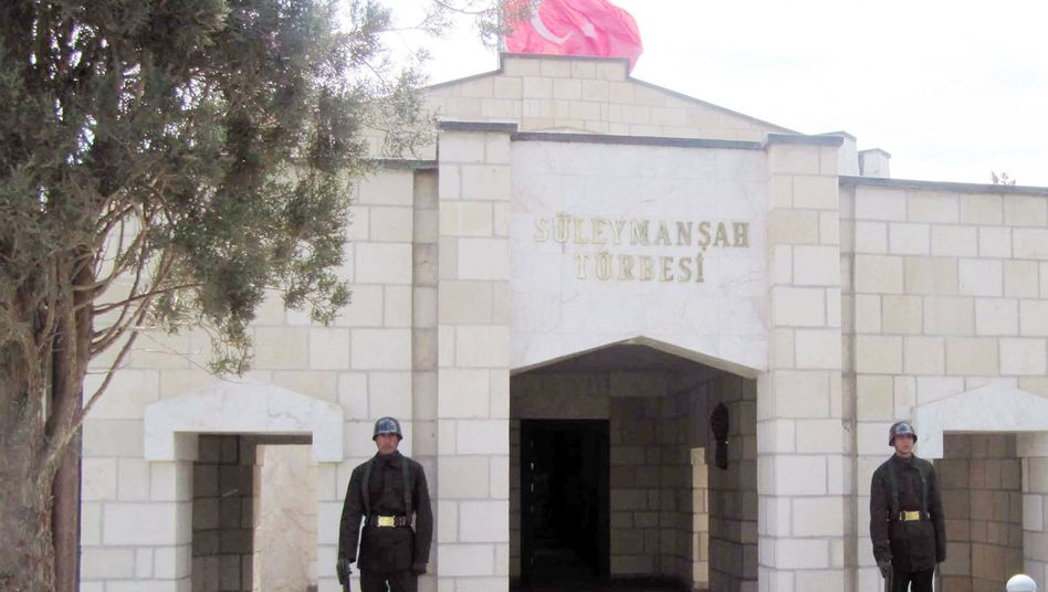 Grabstätte von Suleiman Shah (Archiv): Bedrohung durch IS