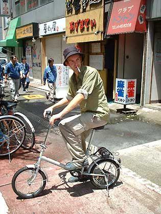 Endlich Ersatz: Test neuer Räder in Osaka