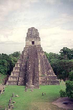 Maya-Ruinen von Tikal: Veränderter Wasserkreislauf