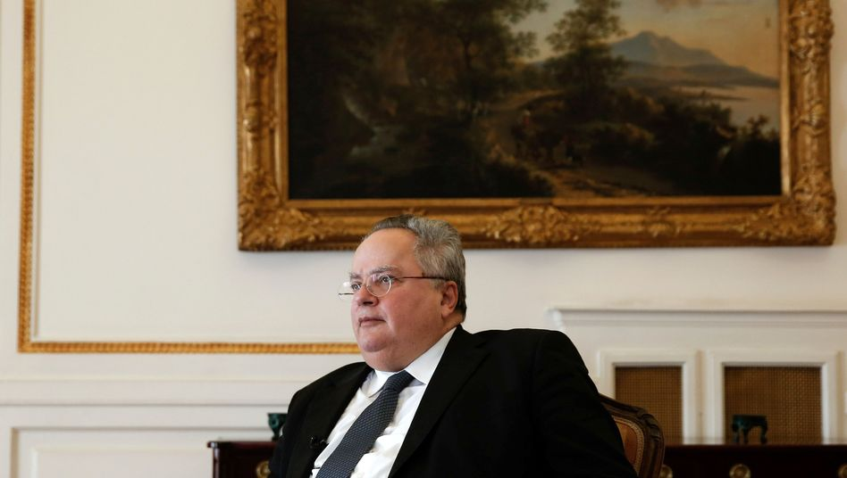 Griechenlands Außenminister Nikos Kotzias