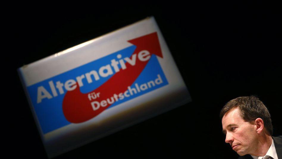 Neue-Anti-Euro-Partei: Mitbegründer Bernd Lucke bei einer Veranstaltung in Oberursel