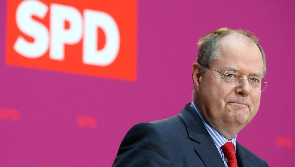 SPD-Kanzlerkandidat Steinbrück: Massive Investitionen in den Neubau von Wohnungen