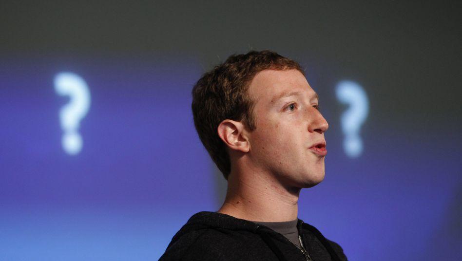 Unternehmer Zuckerberg: 33 Milliarden Dollar Privatvermögen