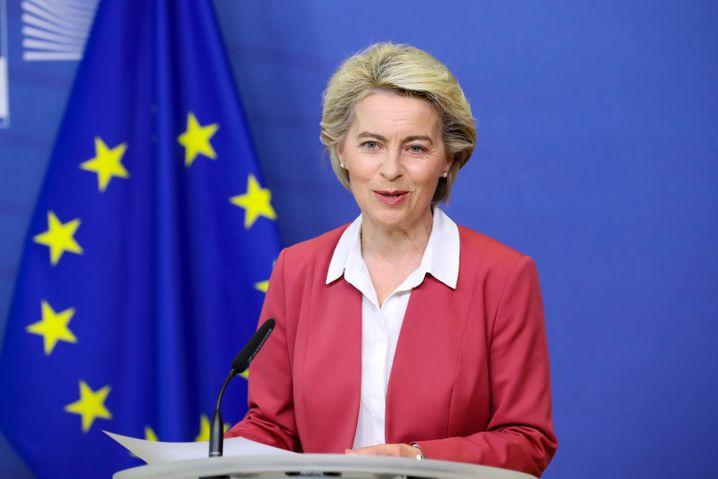 EU-Chefin Ursula von der Leyen