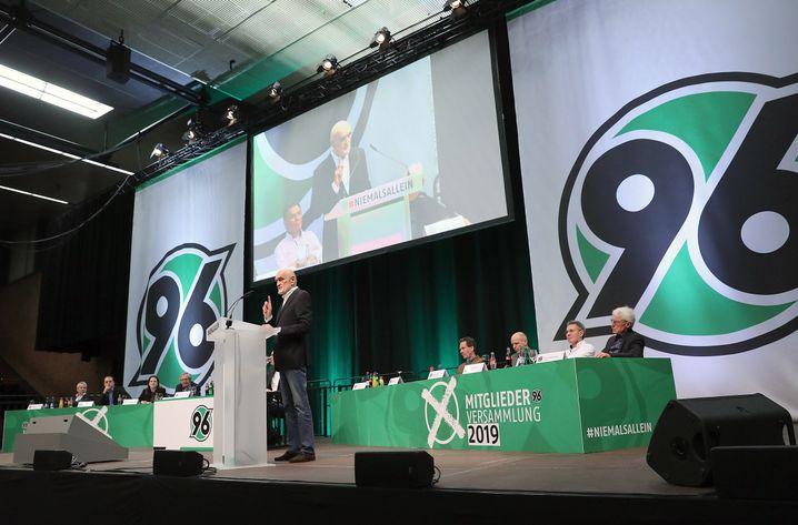 Mitgliederversammlung von Hannover 96 im März