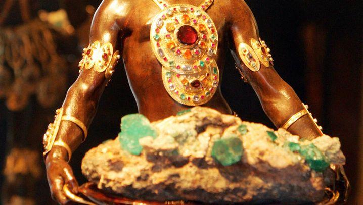 Einbruch in Museum: Gold und Glitzer im Grünen Gewölbe