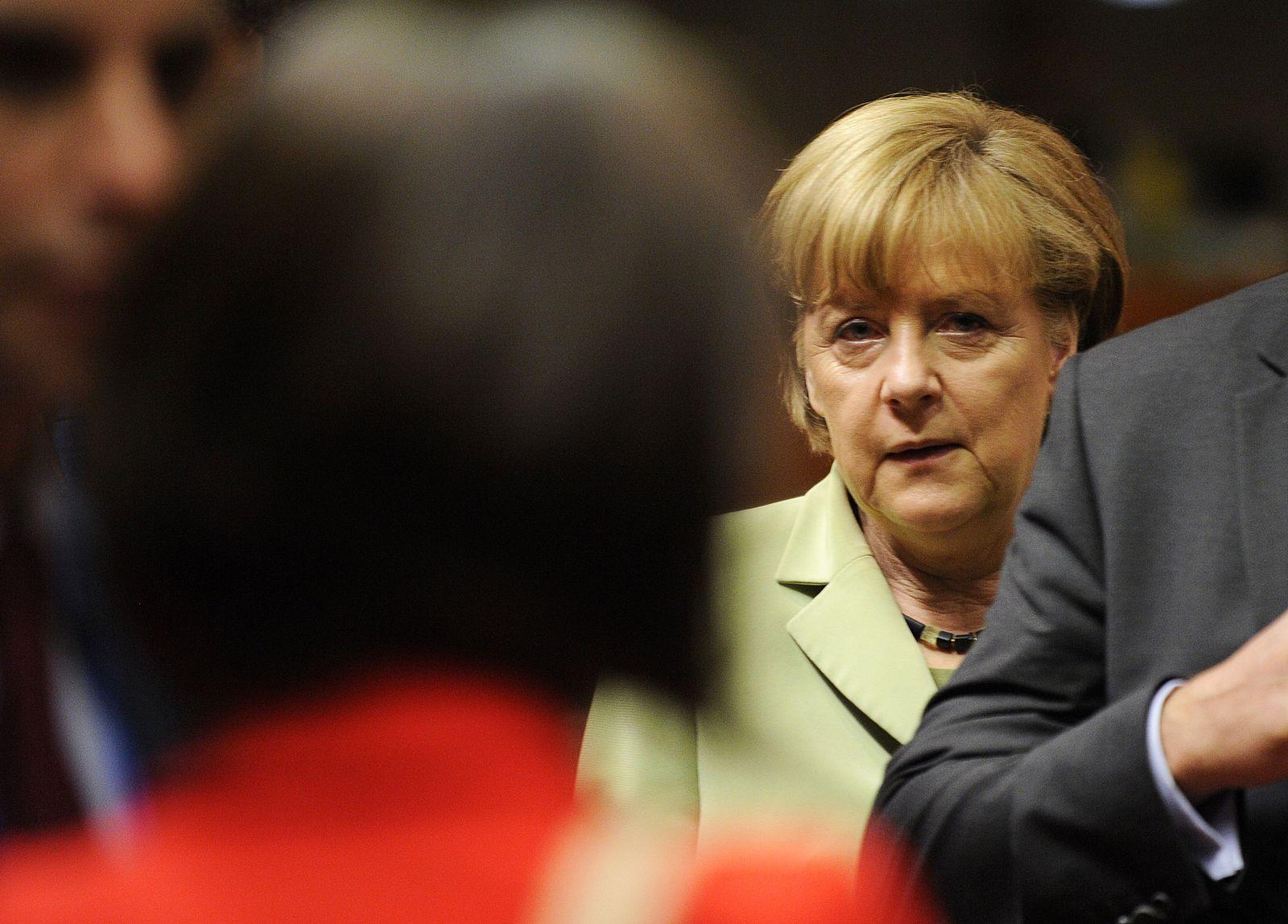 Angela Merkel / EU-Gipfel
