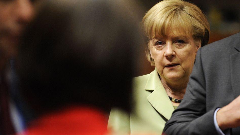 Angela Merkel auf dem EU-Gipfel: Bis zur Wahl bitte nicht stören!