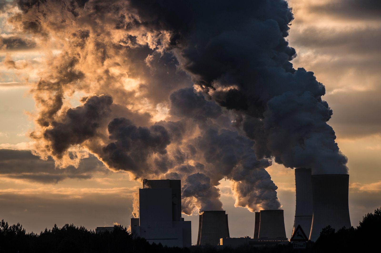 Lignite-Fired Power Station