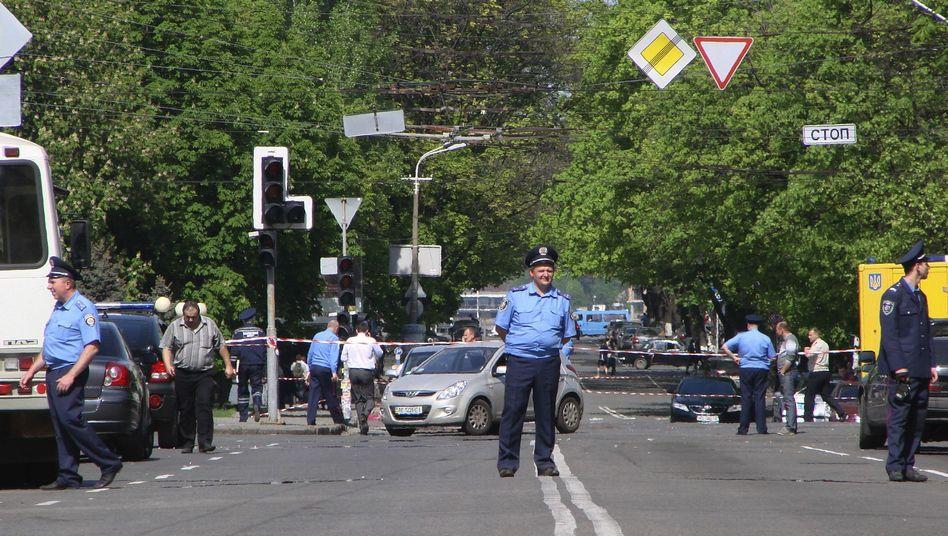Anschlagsserie in der Ukraine: Terrorangst im Land der Fußball-EM