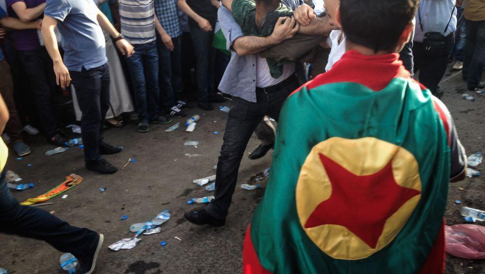 """Detonation in Diyarbakir: Mit """"hoher Wahrscheinlichkeit"""" TNT verwendet"""