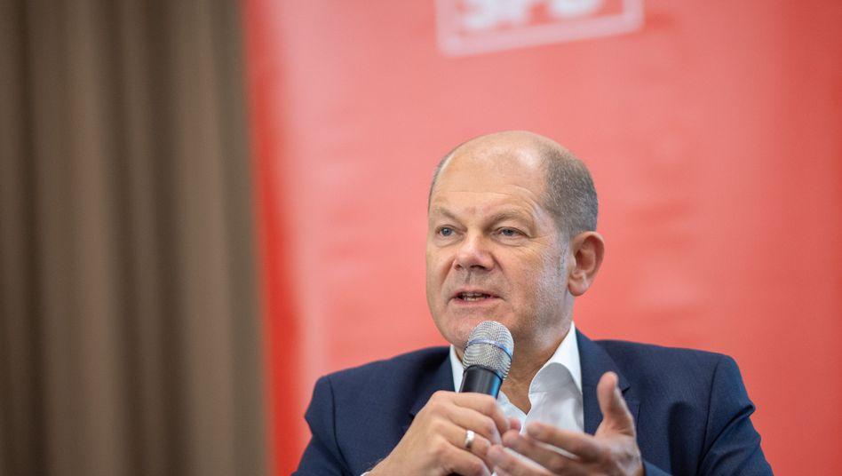 """Bundesfinanzminister Scholz: """"Am besten wäre es, wenn die Banken das einfach lassen"""""""