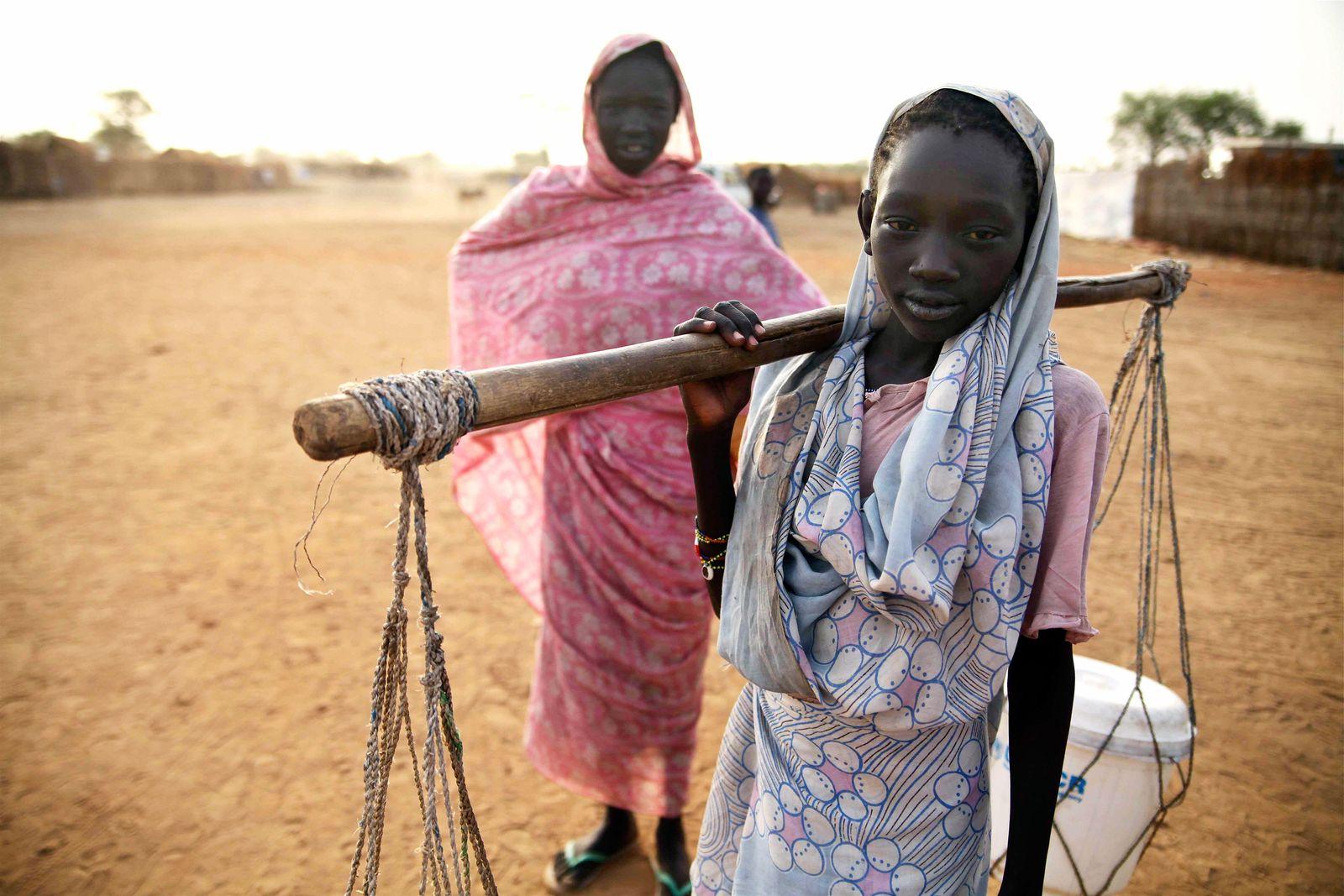 Mädchen / Südsudan