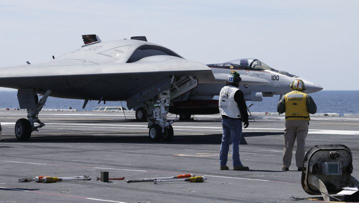 X-47B: Amerikas neuer fliegender Killer