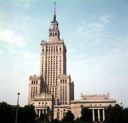 Kulturpalast in Warschau: Gut und Böse in modernen Zeiten