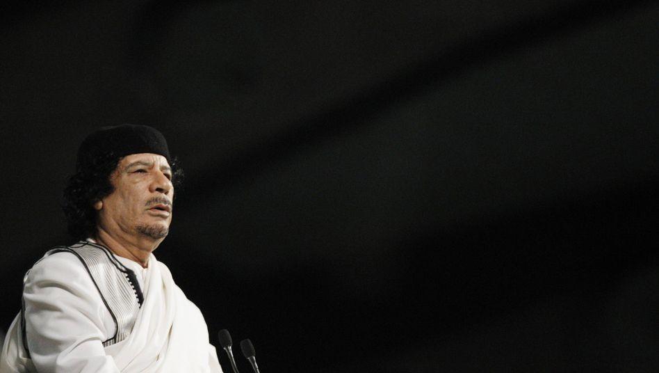 Libyens Ex-Machthaber Gaddafi: Guter Draht nach Peking