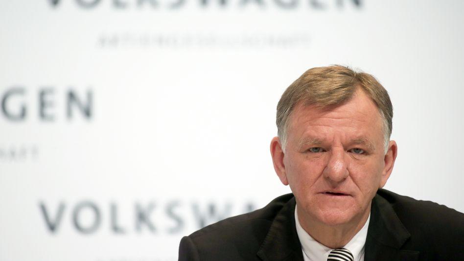VW-Vorstandsmitglied Andreas Renschler