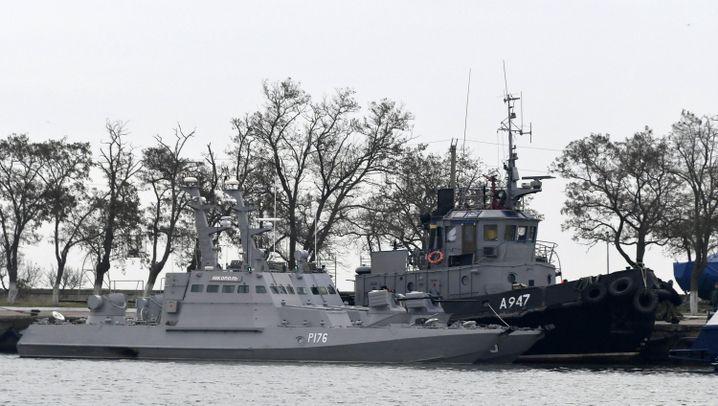 Russland gegen Ukraine: Krise vor der Krim