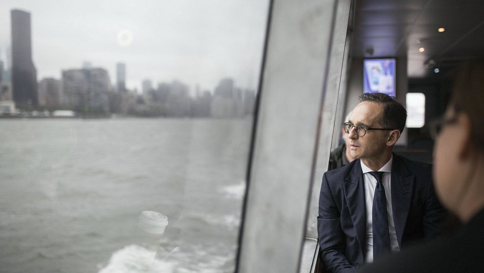 Minister Maas in New York