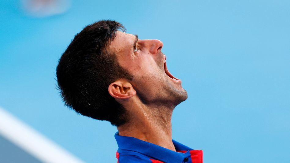 Novak Djoković: Am Ende ohne Medaille