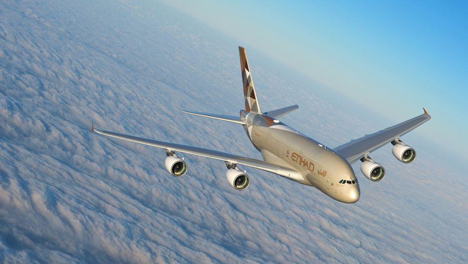 A380-Airbus von Etihad