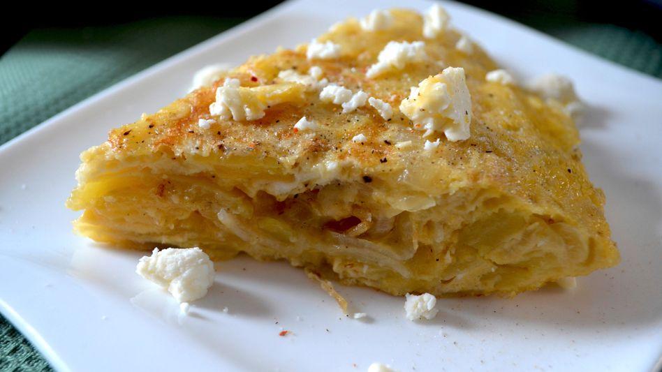 Die spanische Variante des Bauernfrühstücks ist herrlich cremig und seidig im Inneren