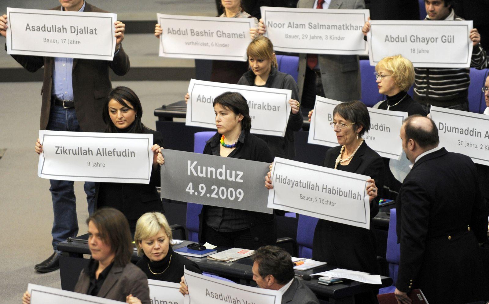Bundestag / Eklat / Linke