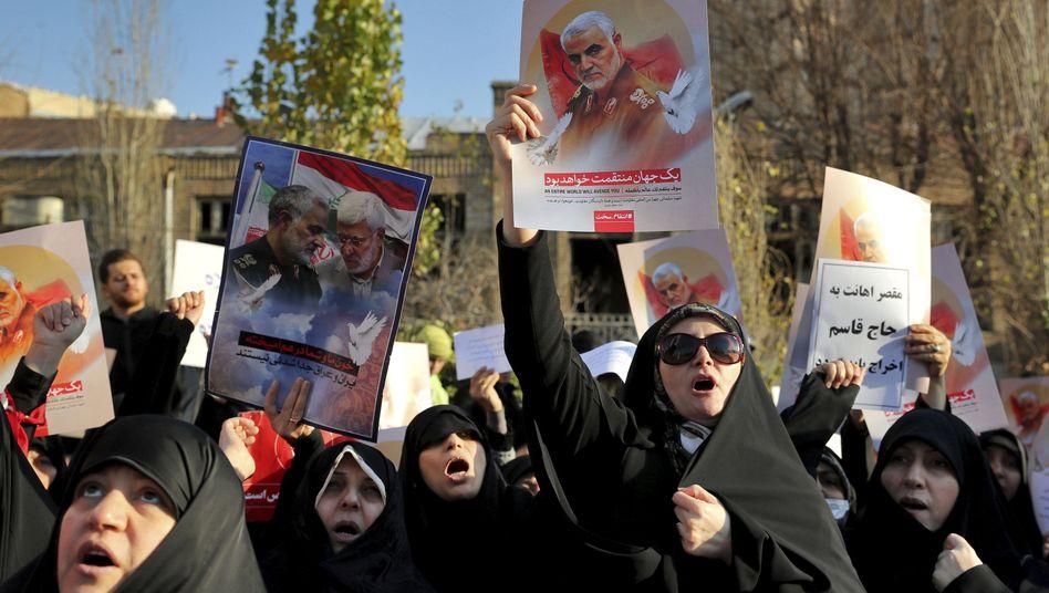 Iran: Die Waage ist auf Krieg geeicht