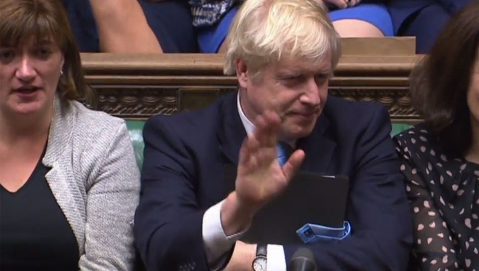 """Boris Johnson im Parlament: """"Ich werde nicht um eine weitere Verschiebung bitten"""""""