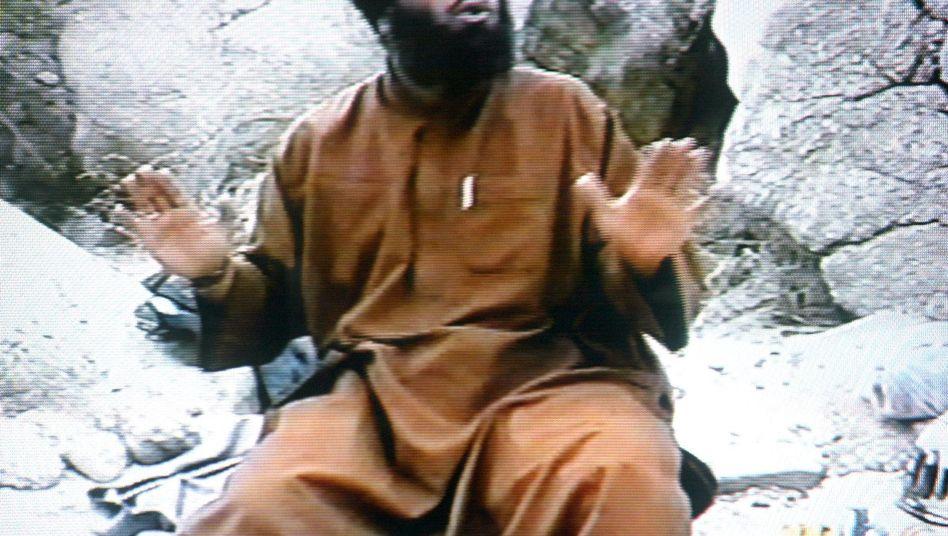 Suleiman Abu Gheith in einem Propagandavideo (Archivbild): In Jordanien gefasst