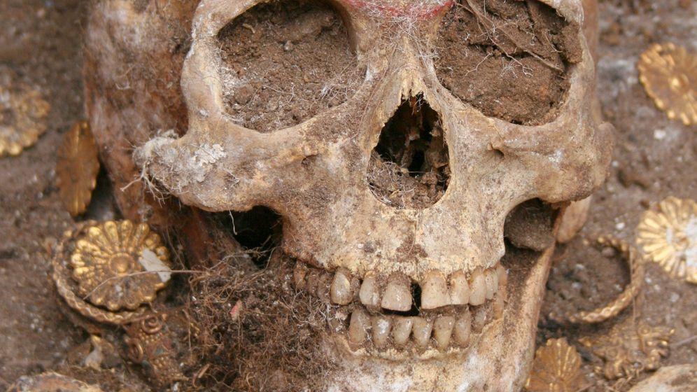 Sarmaten-Grab: Schmucker Stammeskrieger