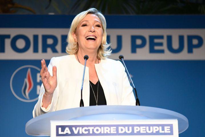 """Marine Le Pen: """"Dies ist der Sieg des Volkes"""""""