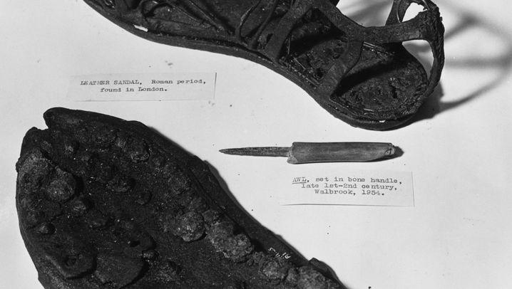 Leichtes Schuhwerk: Der Mythos Römersandale