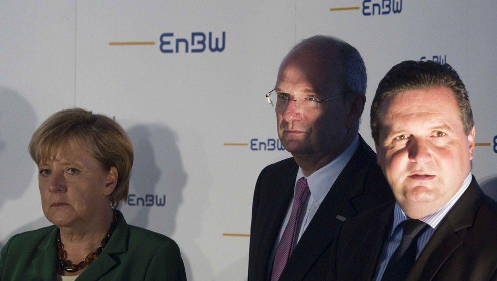 Ministerpräsident Mappus: Hart im Austeilen