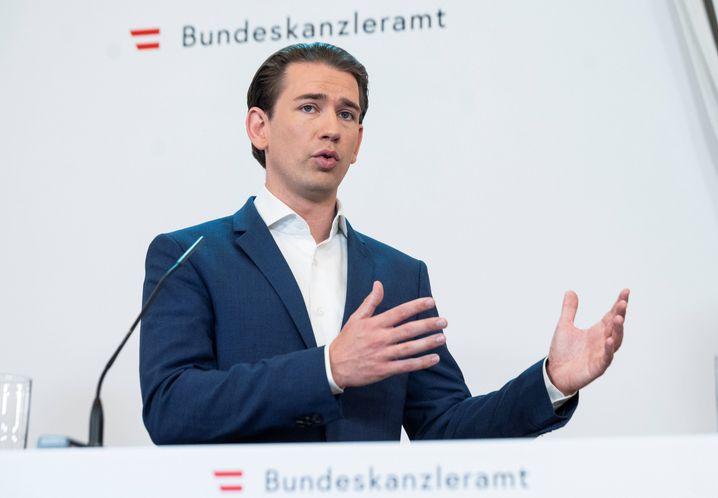 Österreichs Bundeskanzler Sebastian Kurz: Das Label muss stimmen