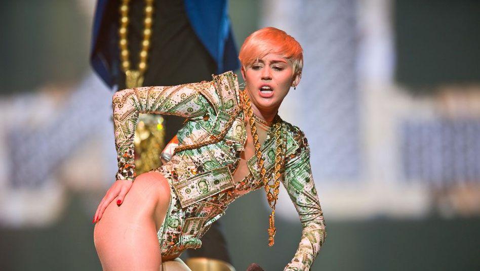 Popstar Cyrus: Symbol für das neue sexuelle Selbstbewusstsein der Frau?