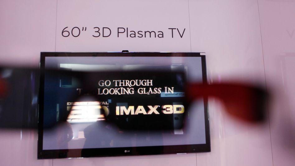 LG-Flachbildfernseher: Leuchtdioden finden sich in vielen Bildschirmen
