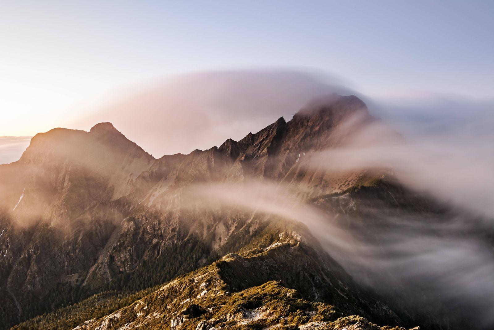 EINMALIGE VERWENDUNG Yushan Mountain/ Mount Jade